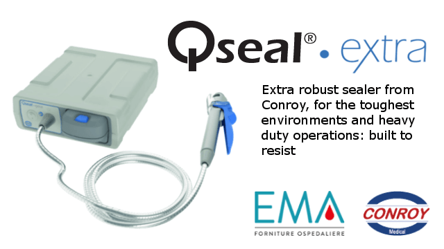 Qseal extra - extra robust battery powered sealer